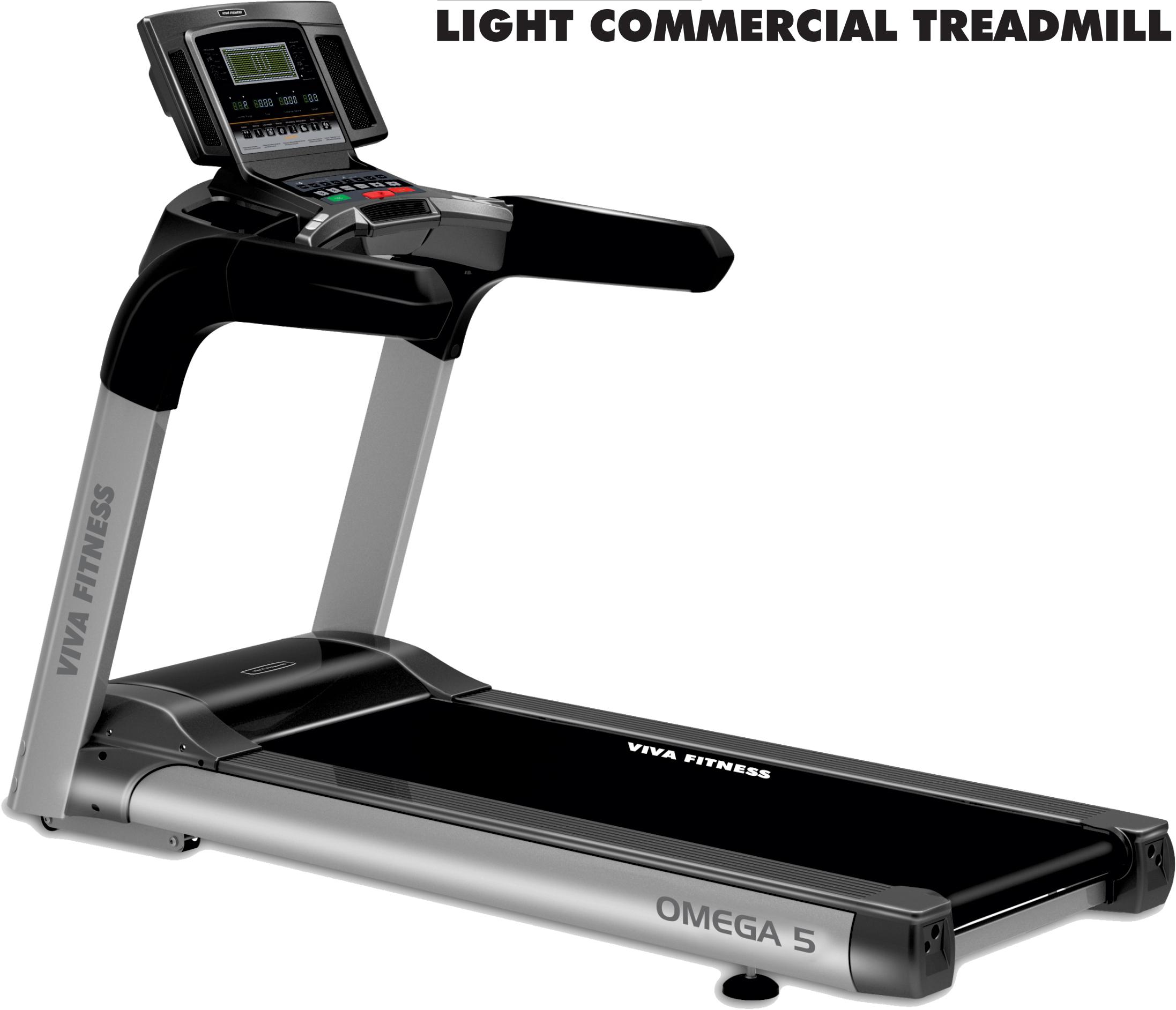 Omega 5 Light Commercial Treadmill