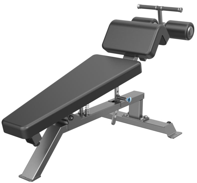 E3037 Adjustable Ab Bench