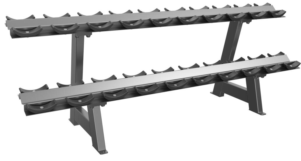 E3077 Dumbbell Rack