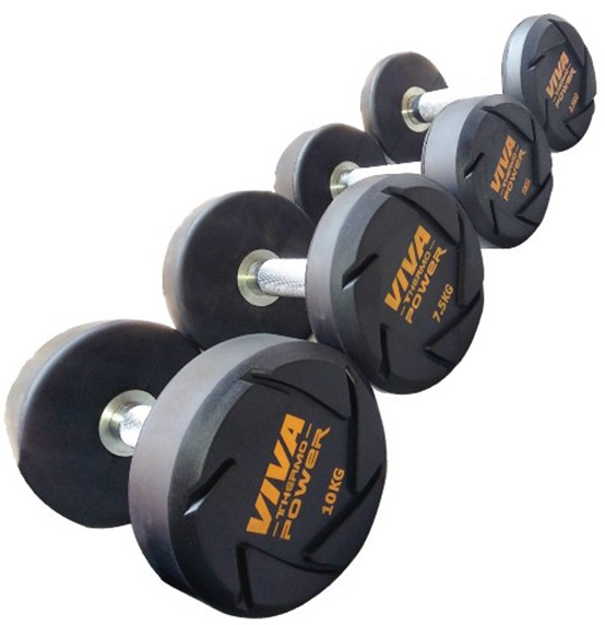 VIVA Thermo Power Solid Dumbbells