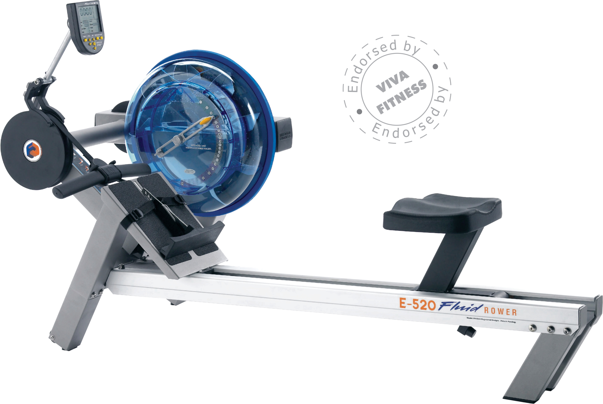 E520 Heavy Duty Commercial Fluid Rower